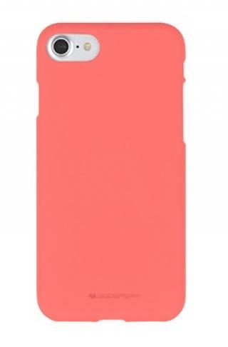 Pouzdro Mercury Soft Feeling pro Samsung Galaxy A71, růžová