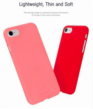 Pouzdro Mercury Soft Feeling pro Xiaomi Redmi Note 8T, červená