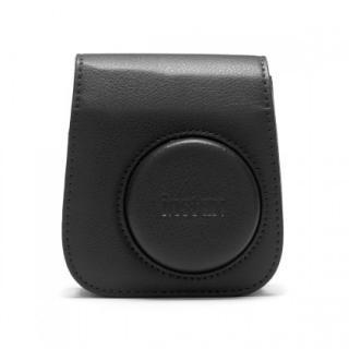 Pouzdro pro fotoaparát instax mini 11, kožené, popruh, černá