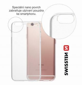 Pouzdro Swissten Clear Jelly pro Huawei P Smart 2019/Honor 10 Lite, transparentní