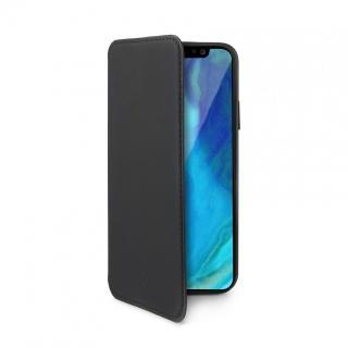 Pouzdro typu kniha CELLY Prestige pro Apple iPhone XS Max, černé