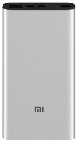 Powerbanka Xiaomi 10 000mAh Mi Power Bank 3 18W stříbrná