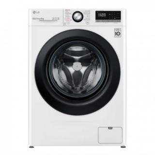 Pračka předem plněná pračka s předním plněním lg f49v3vw6w, b, 9kg použité, nekompletn