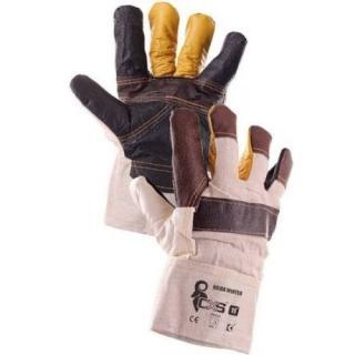 Pracovní rukavice CXS BOJAR WINTER kožené velikost 11