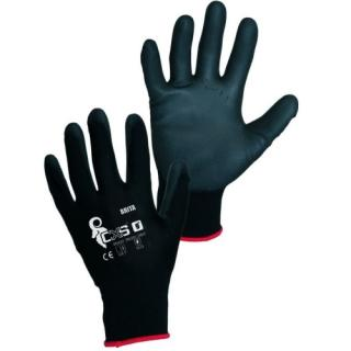 Pracovní rukavice CXS BRITA BLACK velikost 9