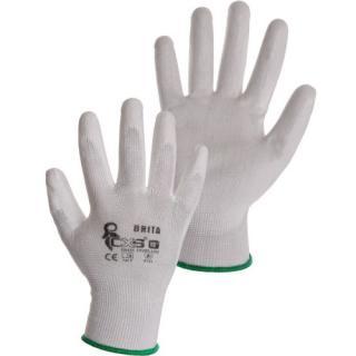 Pracovní rukavice CXS BRITA velikost 8