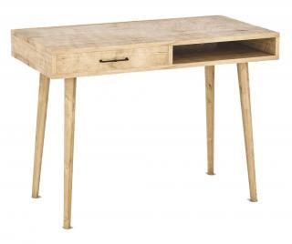Pracovní stůl Carmen Hnědá
