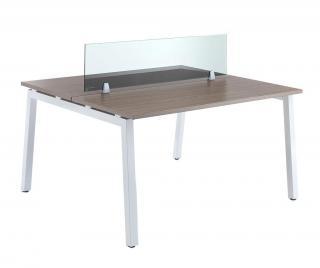 Pracovní stůl Workstation Hnědá