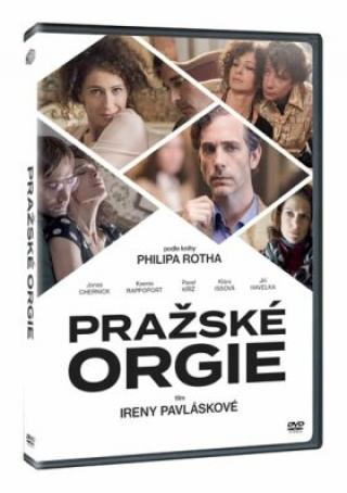 Pražské orgie - DVD