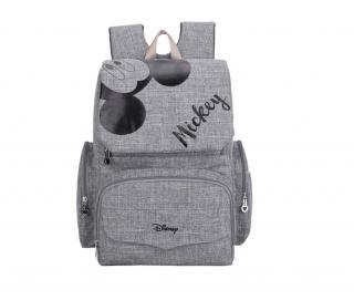 Přebalovací batoh pro maminky Barva: šedá