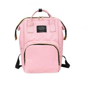 Přebalovací batoh pro maminky - Bella Barva: světle růžová