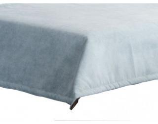 Přehoz na postel Nice PRE 28, modro-šedá látka