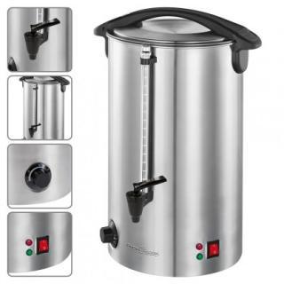 Překapaváč kávy automat na horké nápoje proficook hga 1196, 7l