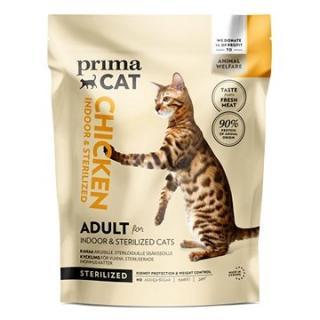 PrimaCat Kuře pro dospělé kočky, kastrované a žijící uvnitř  1,4 kg
