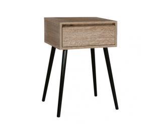 Příruční stolek Bustel černá