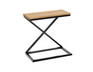 Příruční stolek Cabite v dekoru dub černá