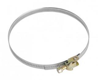 Příslušenství pro odsavače par upínací kovová páska se sponou mora mv110, 110 mm