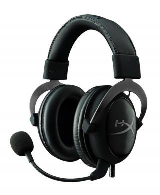 Pro Gaming Headset HyperX Cloud II kovová