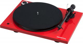Pro-Ject Essential III RecordMaster High Gloss Red