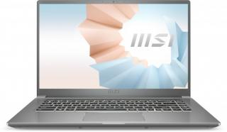 Pro náročné/Profi notebook msi modern 15 a11sb-086cz i7 16gb, ssd 512gb, mx450