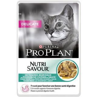 Pro Plan Cat Delicate s mořskými rybami 24 × 85 g