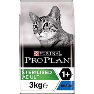 Pro Plan Cat Sterilised Optirenal s králíkem 3 kg