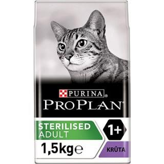 Pro Plan Cat Sterilised Optirenal s krůtou 1,5 kg