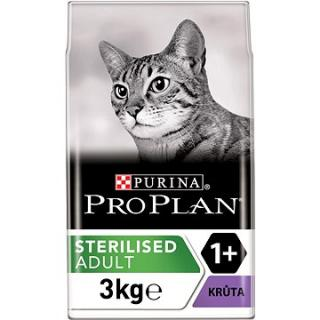 Pro Plan Cat Sterilised Optirenal s krůtou 3 kg