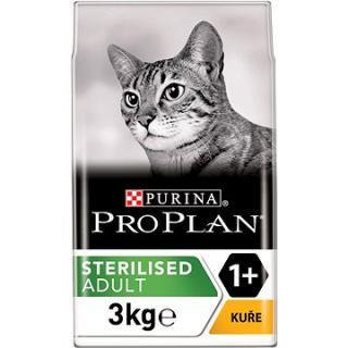 Pro Plan Cat Sterilised Optirenal s kuřetem 3 kg