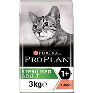 Pro Plan Cat Sterilised Optirenal s lososem 3 kg