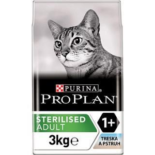 Pro Plan Cat Sterilised Optisavour s treskou a pstruhem 3 kg