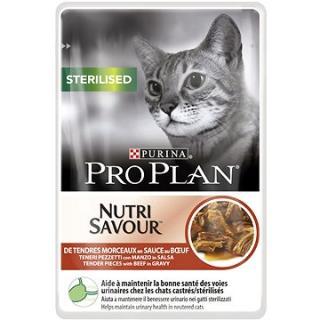 Pro Plan Cat Sterilised s hovězím 24 × 85 g