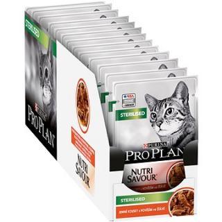 Pro Plan Cat Sterilised s hovězím 26 × 85 g