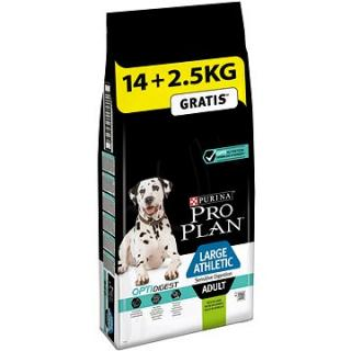Pro Plan large athletic adult optidigest s jehněčím 14 kg   2,5 kg