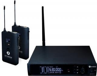 Prodipe UHF B210 DSP DUO V2 Black