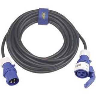 Prodlužovací CEE Cara kabel Sirox 361.410, 10 m, 16 A, černá