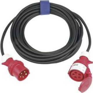 Prodlužovací CEE kabel Sirox, 10 m, 32 A, černá