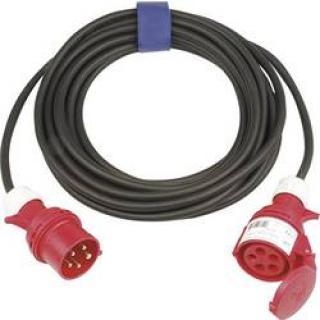 Prodlužovací CEE kabel Sirox, 25 m, 16 A, černá