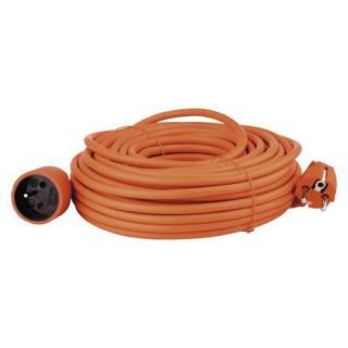 Prodlužovací kabel EMOS 25m/1zásuvka oranžová P01125 1901012500