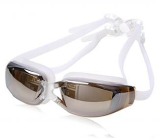 Profesionální plavecké brýle Barva: bílá