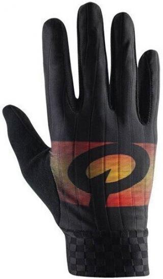 Prologo Faded Gloves Long Fingers Black/Orange L pánské L