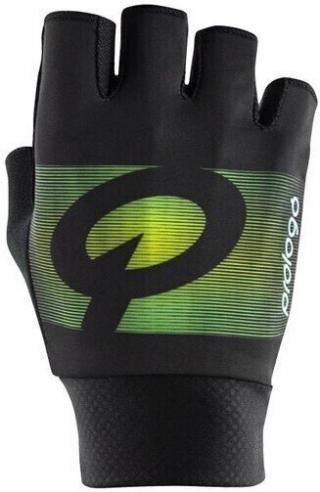 Prologo Faded Gloves Short Fingers Black/Green M pánské M