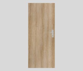 Protipožární dveře Naturel Technické pravé 90 cm jilm DPOJ90P dřevodekor jilm