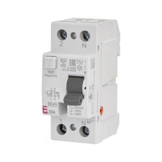 Proudový chránič ETI EFI-P2 AC 25/0,03