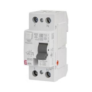 Proudový chránič ETI EFI-P2 AC 40/0,03