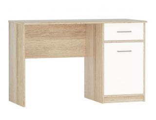 Psací stůl STELS 1D1S bílá