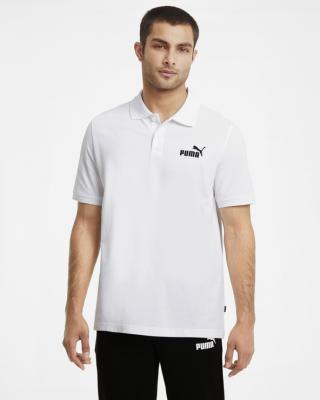 Puma Essentials Polo triko Bílá pánské XXL
