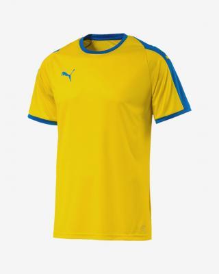 Puma Liga Triko Žlutá Vícebarevná pánské XL