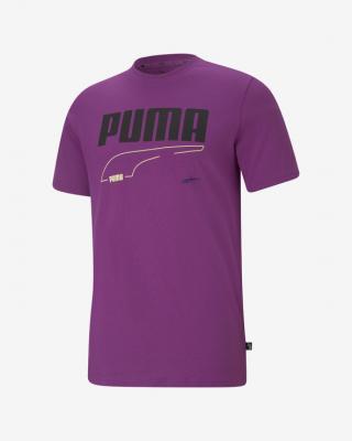 Puma Rebel Triko Fialová pánské XXL