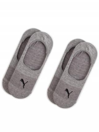 Puma Sada 2 párů kotníkových ponožek unisex 906245 Šedá 35_38